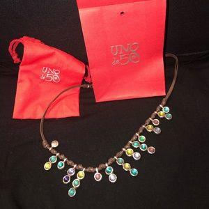 NWT Uno de 50 Necklace